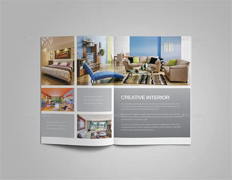 brochure interior design interior design brochure by meenom graphicriver