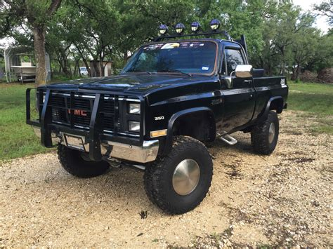 lifted gmc 1985 gmc sierra k1500 lifted pick up for sale