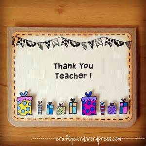 17 best ideas about handmade teachers day cards on