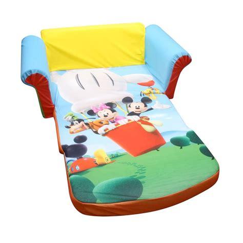sofa for baby spin master marshmallow furniture flip open sofa mickey