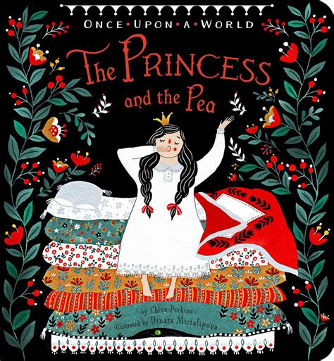 And The Princess the princess and the pea book by perkins dinara