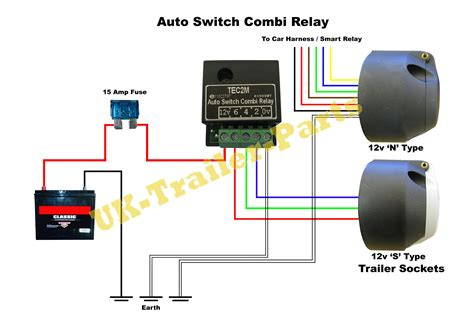 tec2m auto switch combi relay wiring diagram uk trailer