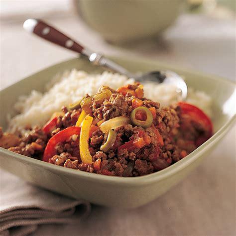 healthy picadillo recipe myrecipes