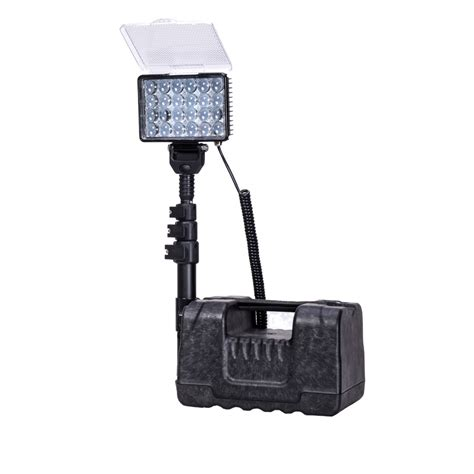 portable job site lighting buy waterproof cordless rechargeable led work light 72w