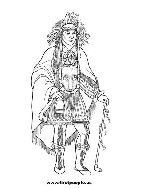 creek indian coloring page coloring pictures of creek indians coloring pages
