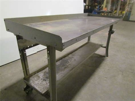 lyon 6 portable steel workbench industrial factory