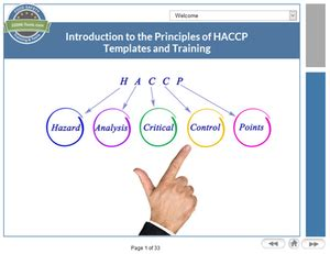 Introduction To The Principles Of Haccp Tutorial Fsvp Program Template