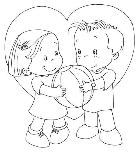 imagenes amor y amistad para colorear im 225 genes de amistad para colorear
