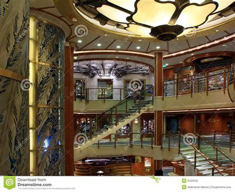 interno nave da crociera nave da crociera all interno fotografia stock immagine