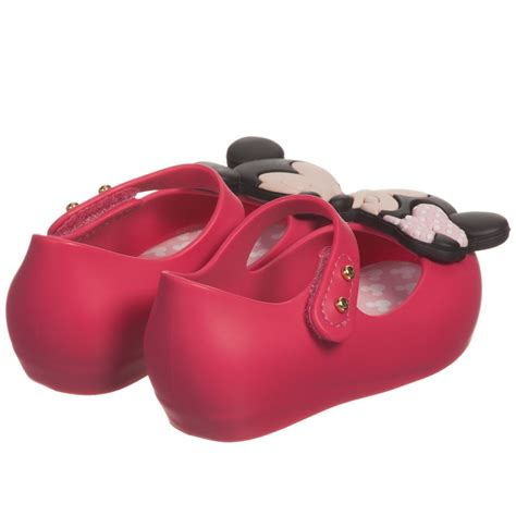 mouse shoes mini bright pink minnie mouse shoes