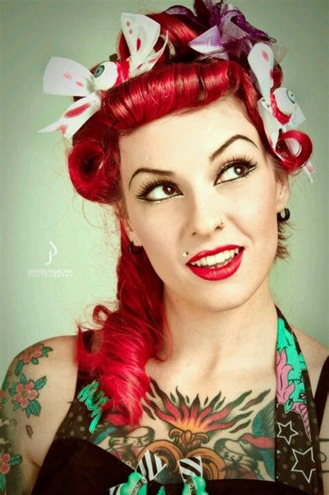 tattoo girl rockabilly love the rockabilly look sexy tats tattoos ink inked