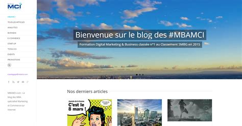 Mba Mci by Mba Mci Mba Digital Marketing Commerce Sur