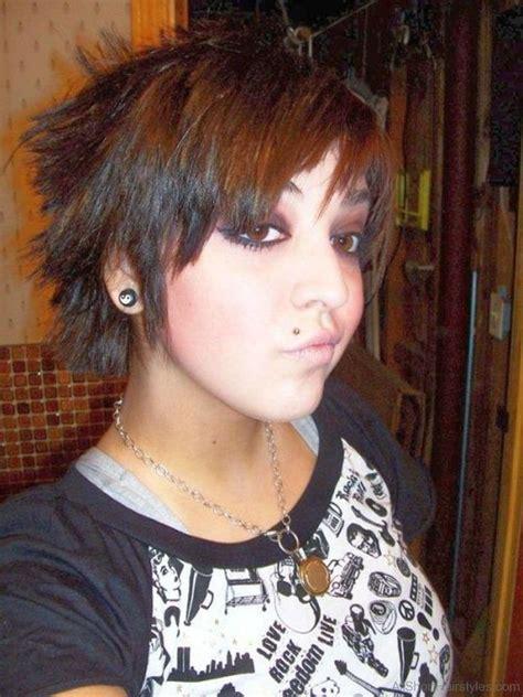 short emo hairstyles beautiful hairstyles 52 colored short emo hairstyles for girls