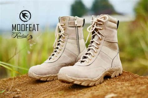Moofeat Boots Tracking jual sepatu boot moofeat original tracking safety ujung