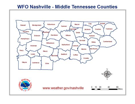 middle tn map a tornado climatology of middle tennessee 1830 2003