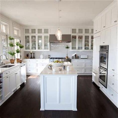u shaped kitchen transitional kitchen twin companies waterfall kitchen island transitional kitchen eric