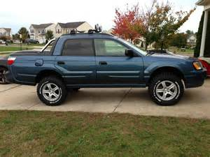 Lifted Subaru Baja Sjr Lift In Wheel Trimmed Scoobytruck