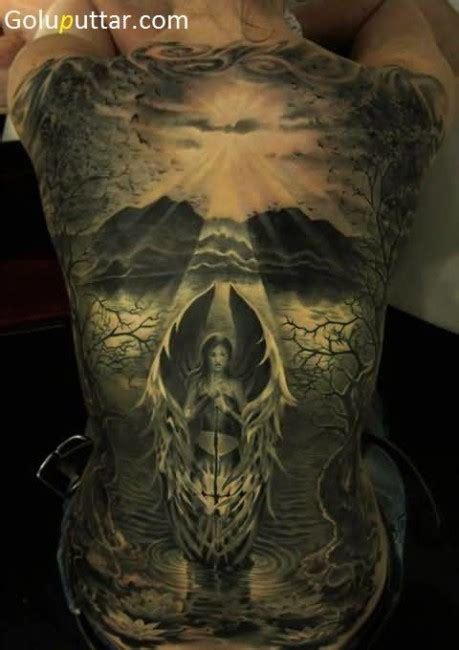 tattoo angel skull 3d angel tattoos and photo ideas