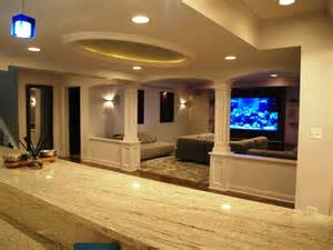 Lake forest basement remodel by leslie lee at normandy