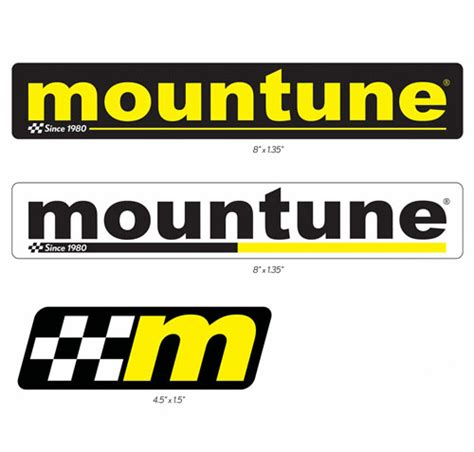 Aufkleber Set Racing Ford by Mountune 6 Sticker Set Part Details For 5000 Stk