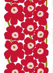 Marimekko Curtain Fabric Ideas That Flower Design On Your Shower Curtain It Just Turned 50 Radio International