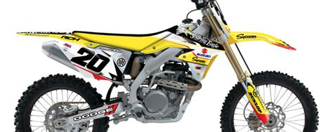 Rch Suzuki Graphics Stellar Mx 2014 Rch Team Graphic Kit Suzuki Bto Sports