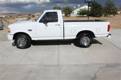 used ford truck beds buy used 1995 ford f150 xl short bed 4x2 truck in kingman