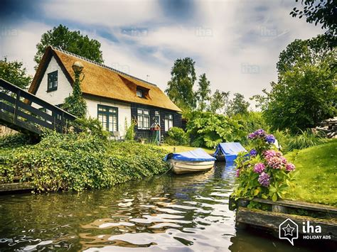 giethoorn rentals in an apartment flat for your holidays