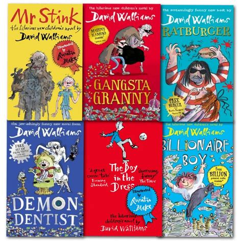 the curious adventures of mr stank books david walliams collection 6 books set billionaire boy mr