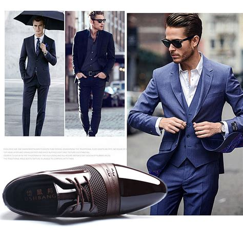 Fashion Casual Shoes s new dress formal oxfords leather shoes business