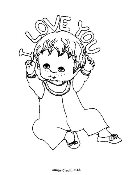 i love you baby coloring pages i love you baby free coloring pages for kids printable