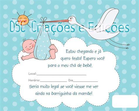 Modelo De Convite Para Festa Photoshop E Arte Convites Foto Convite Arte Infantil Cha Bebe Fralda Festa Crian 231 A