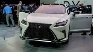 2016 lexus rx looks sharp at new york auto show pictures