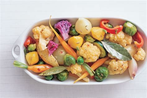 vegetables 65 recipe marinated baby vegetables recipe epicurious