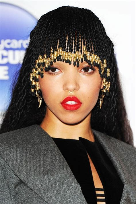 how to cut bangs on box braids fka twigs braided bangs