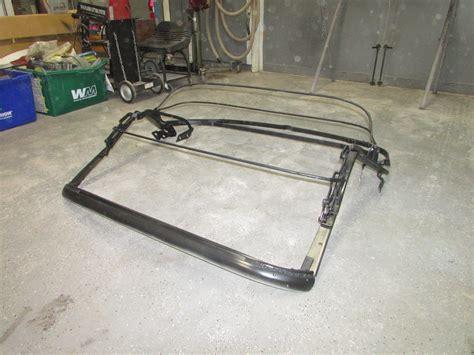 c2 corvette frame for sale 1962 original convertible top frame corvetteforum