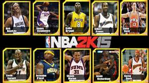 legends the best players and teams in basketball books nba 2k15 new legends in 2k15 steve nash amare and