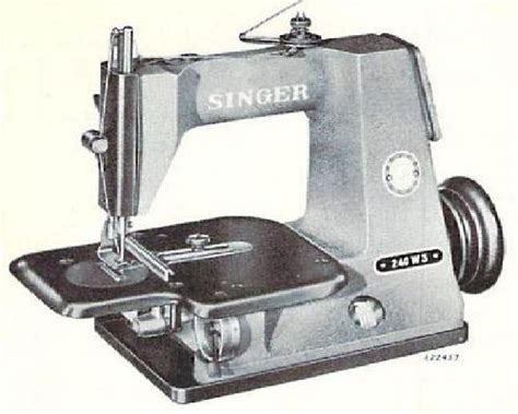 swing machine parts singer 240w3 industrial sewing machine parts book