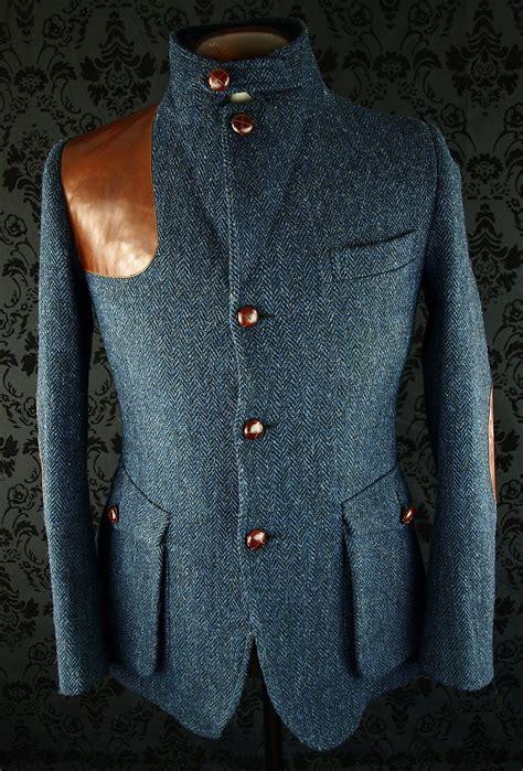 tweed style jacket superb mens harris tweed norfolk shooting style