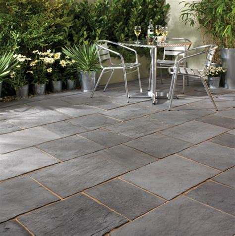 slate patio pavers enthralling slate pavers for patio on running bond tile