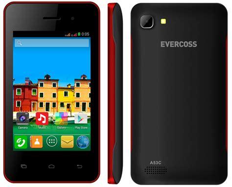 Smartphone Evercoss A53c Kitkat Dual Gsm Lcd 3 5 Inch Harga Hp Evercoss 2016