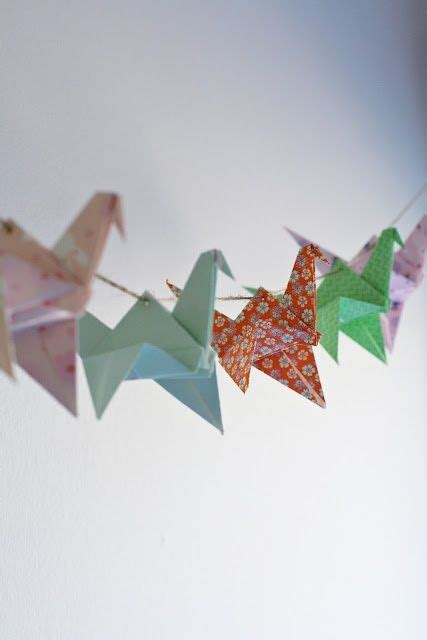 Origami Garland - best 25 origami garland ideas on origami