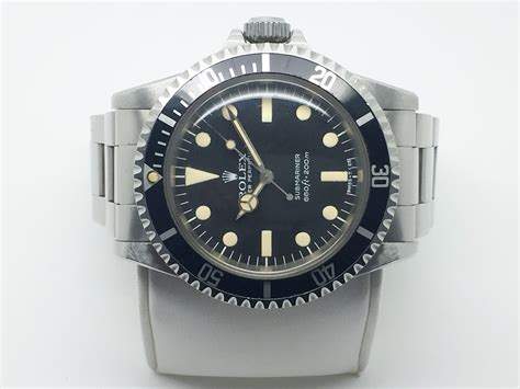 Rolex Submarine Matic Silver 1979 rolex submariner 5513 ii maxi with papers
