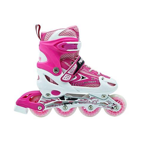 Sepatu Roda Inline Skate jual power line inline skate sepatu roda pink harga kualitas terjamin blibli