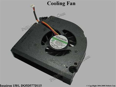 Fan Laptop Dell Inspiron dell inspiron 1501 cooling fan dq5d577d115 gb0507pgv1 a 13 b1755 f gn yd615