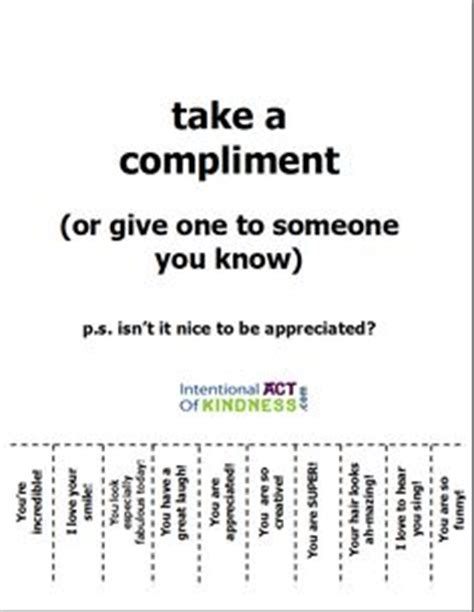 take a compliment 50 posters to pin and student council ideas on student council