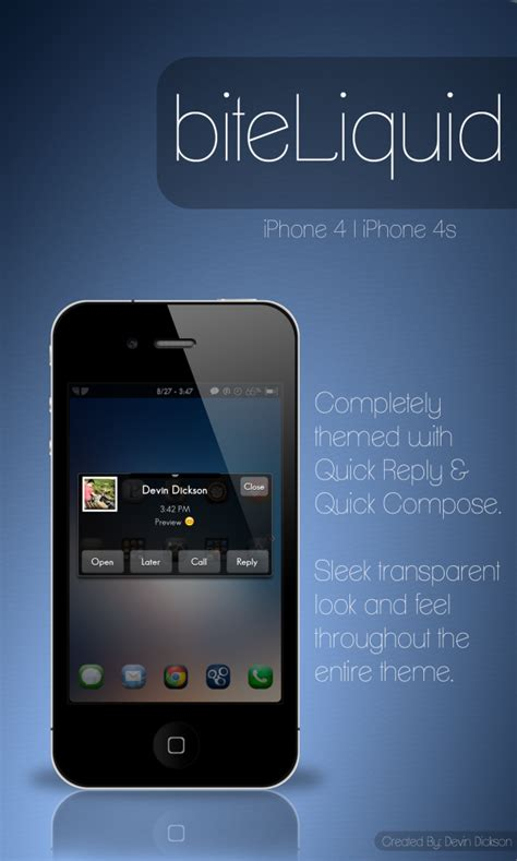 iphone themes location biteliquid black transparent bitesms theme apple