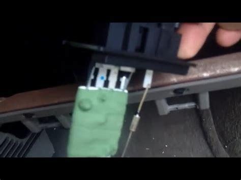 dodge caravan blower motor resistor testing replace blower motor dodge grand caravan 1996 2000 chry doovi