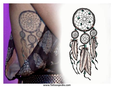tattoo dreamcatcher tumblr miley cyrus dreamcatcher tattoo tumblr 4