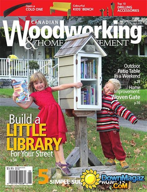 canadian woodworking home improvement augustseptember